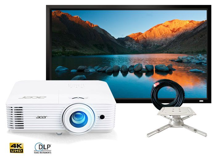 Acer H6541BD Full HD Home Cinema Projector Package