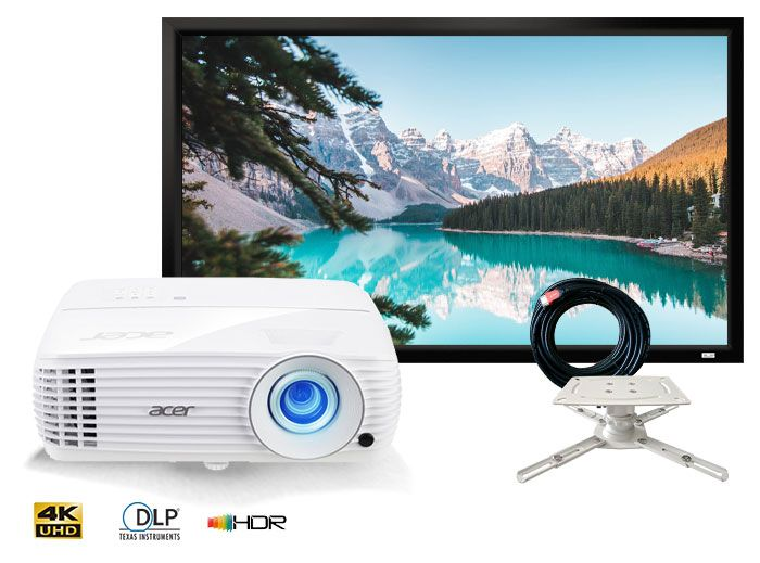 Acer H6810BD 4K UHD Home Cinema Projector Package