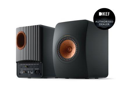 KEF LS50 Wireless II Speakers Pair | High-Resolution Audio Player