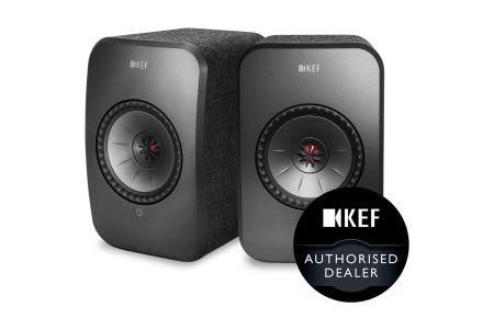 KEF LSX Wireless HiFi Speakers Pair
