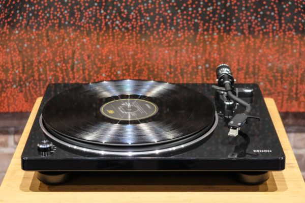 Introducing the all new DP-400 Semi-Automatic Turntable by Denon